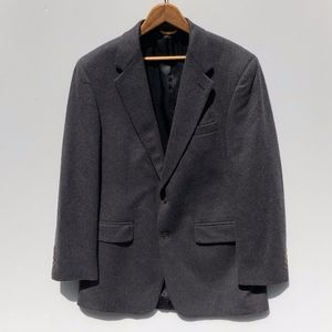 Lord & Taylor 5th Ave Cashmere Sports Coat Gray 40